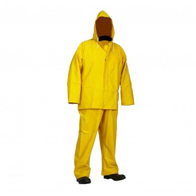 Forcefield Hi-Vis FR 3-Piece PVC Rain Suit (.45mm)