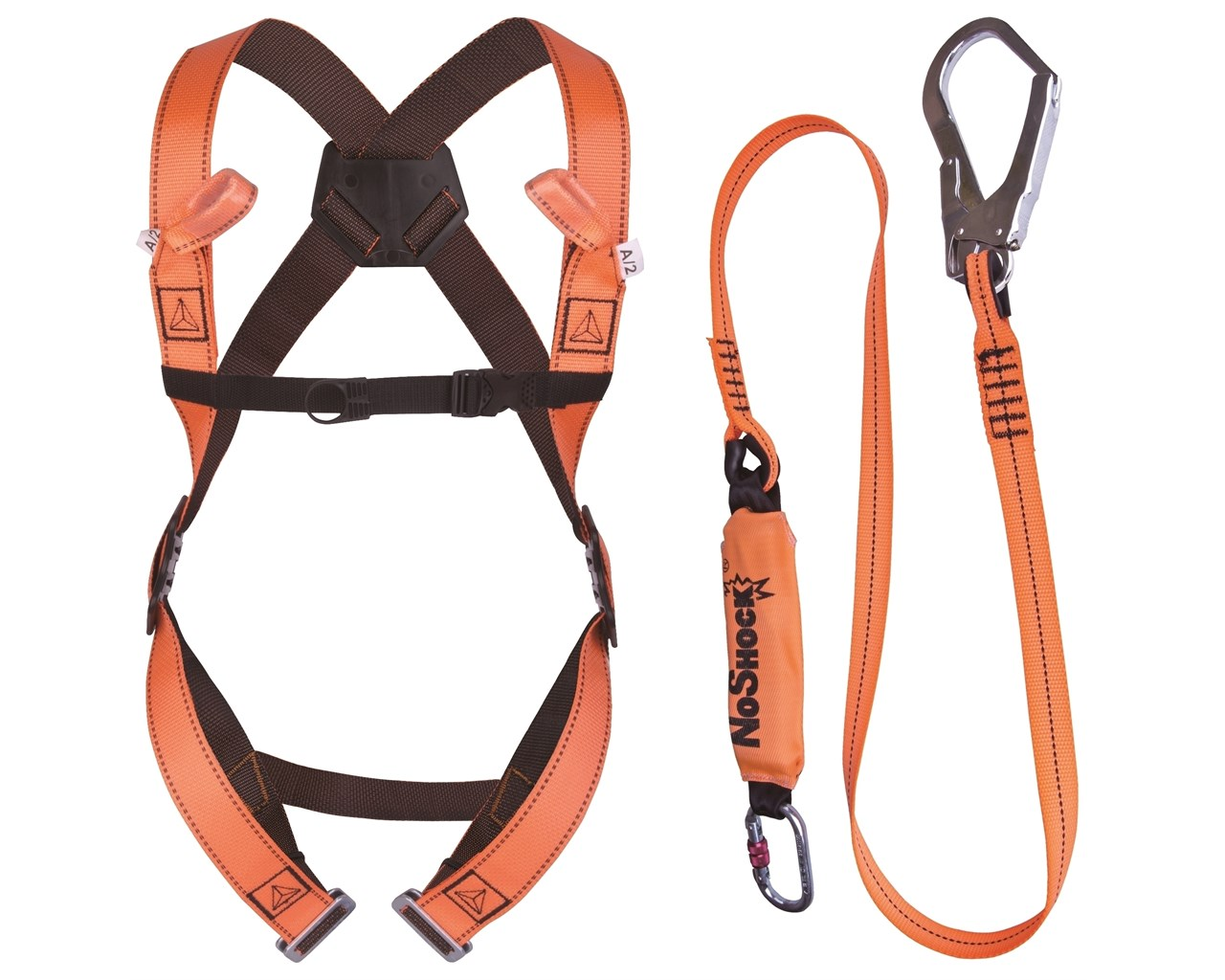 Forcefield Harness and Lanyard in a Bag 022-KIT-100-XL