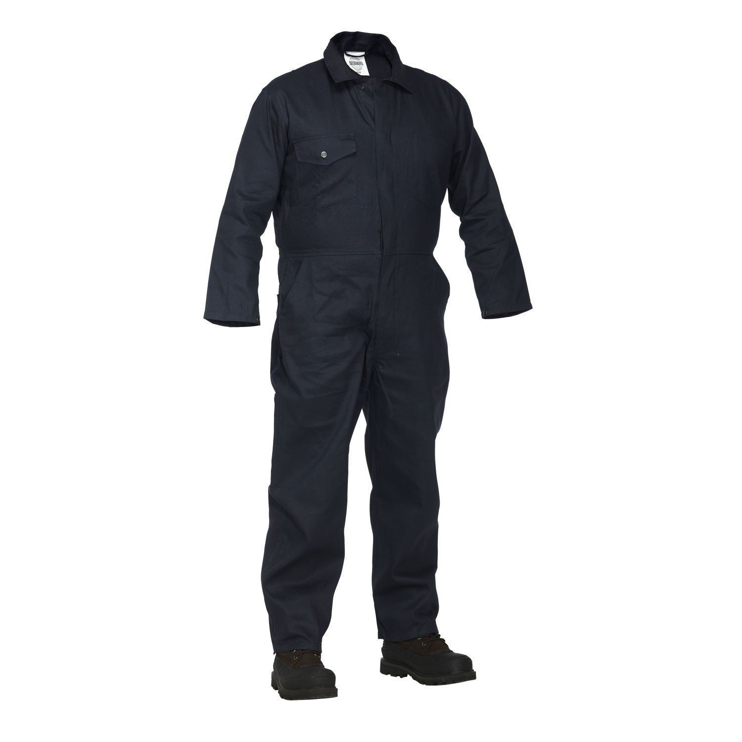 Forcefield Welders Coveralls, cotton, button front 024-4500