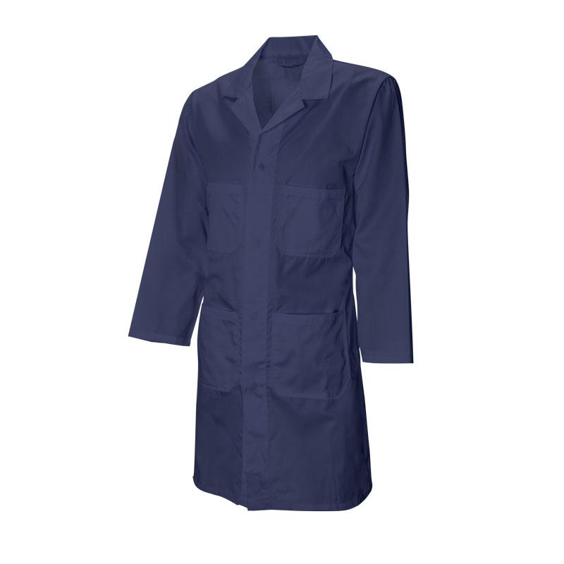 Mechanics Shop Coat, poly/cotton, button front - Large