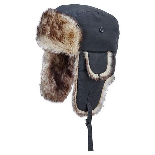 Work King Ladies Aviator Hat w faux fur trim - i360