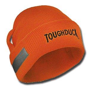 Tough Duck Hi-Vis Acrylic Watch Cap With Straps (6pk)