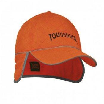 Tough Duck Hi-Vis Cap With Ear Flap (6pk) - i26716