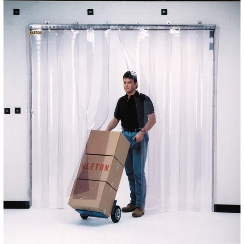 Strip Curtain - Standard Curtain w/hardware - 6' W x 8'
